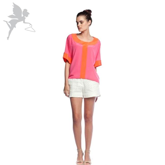 Item - Pink and Orange Hadley Blouse Size 10 (M)