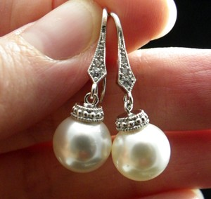 Other Swarovski Pearl Earrings Set Pearl Bridesmaid Jewelry Wedding Jewelry Bridal Gift Bridal Jewelry Gift