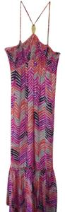 PINK,PURPLE,ORANGE,BROWN,TAN Maxi Dress by Trina Turk
