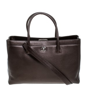 Chanel Leather Tote in Brown