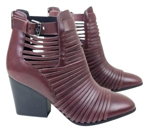 Sam Edelman Red Brown Boots