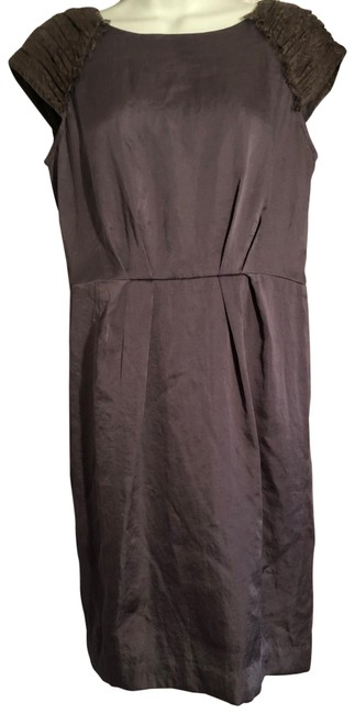 Item - Gray Casual Mid-length Work/Office Dress Size 4 (S)