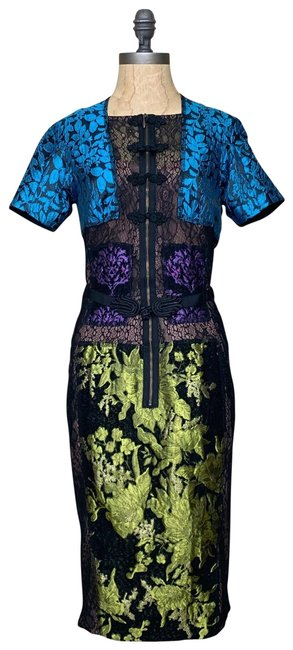 Item - Multicolor New Mid-length Cocktail Dress Size 4 (S)