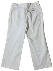 Burberry Capri/Cropped Pants white