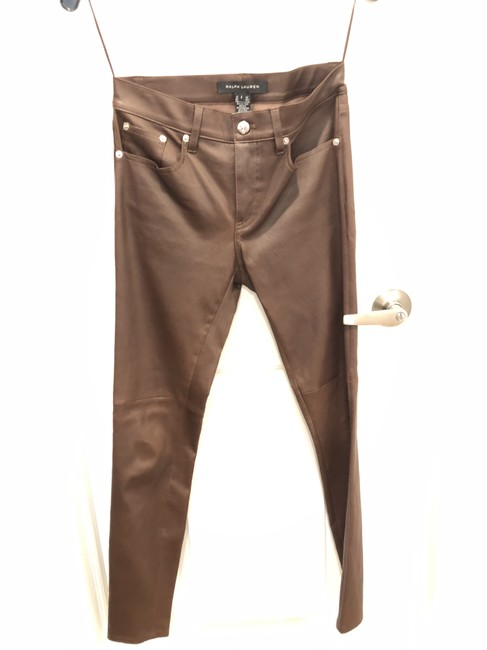 Item - Brown Leather Pants Size 2 (XS, 26)
