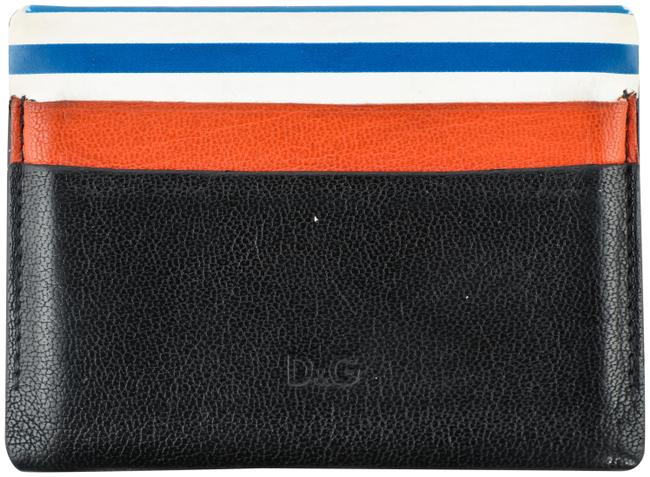 Item - Multi Color Dolce and Gabbana Leather Card Wallet