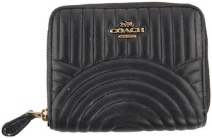 Coach Coach Quilted Leather Zippy Wallet