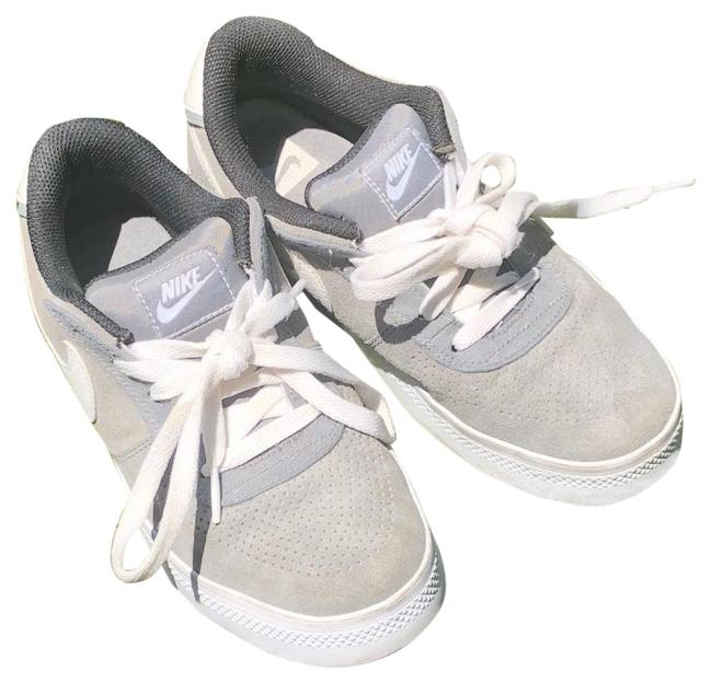 Item - Gray & White Suede Sneakers Size EU 37.5 (Approx. US 7.5) Regular (M, B)