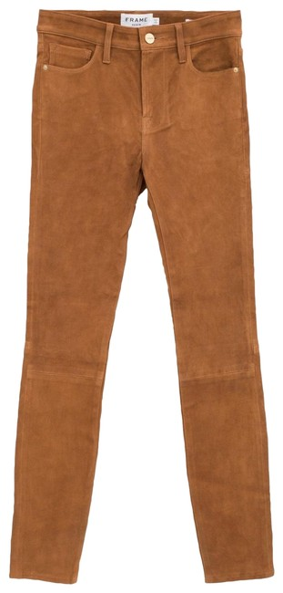 Item - Brown Le High Suede Pants Size 4 (S, 27)