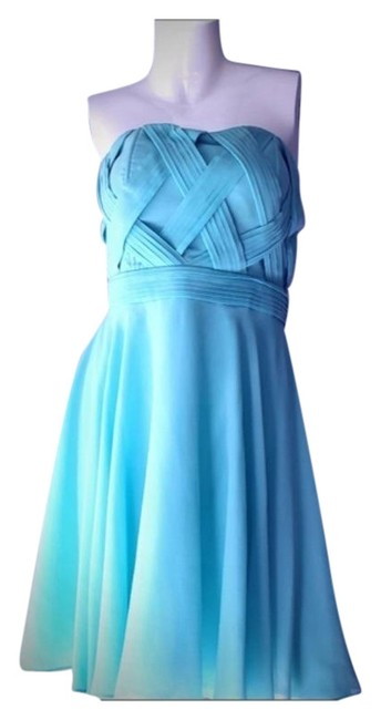 Green Blue Mid-length Night Out Dress Size 12 (L) Green Blue Mid-length Night Out Dress Size 12 (L) Image 1