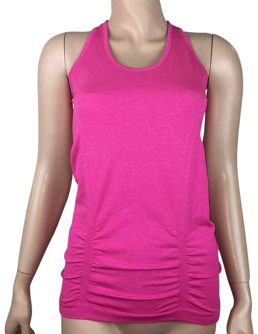 Item - Pink Fastest Track Fitness Running 643266 Activewear Top Size 4 (S)