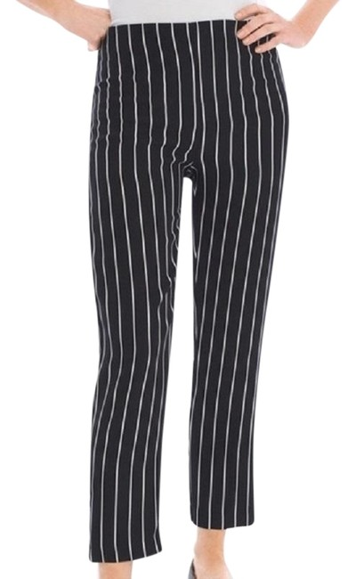 Item - Black/White Label Collection Striped Pants Size 6 (S, 28)