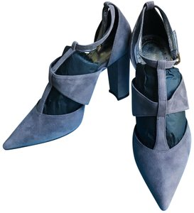 Jean-Michel Cazabat Gray Pumps