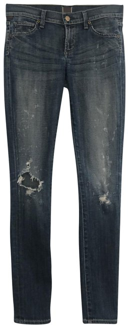 Item - Blue Distressed Avedon Big Bang Skinny Jeans Size 2 (XS, 26)