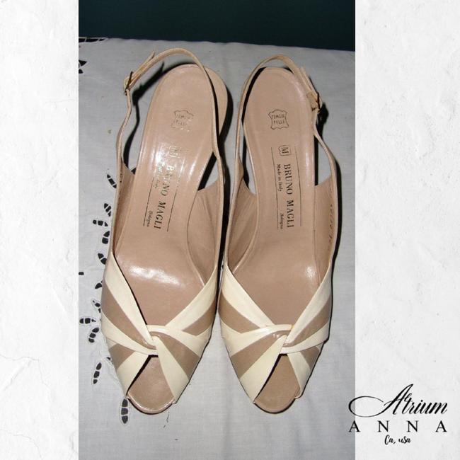 Item - Tan Tan/Beige Formal Leather Open 10b Sandals Size US 10 Regular (M, B)