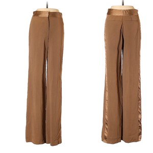 Roberto Cavalli Wide Leg Pants tan