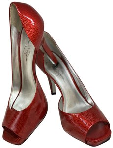Jessica Simpson Red Pumps
