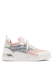 Christian Louboutin Pink/Silver Athletic
