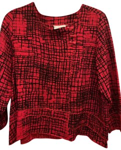 Habitat Clothes Top red and black