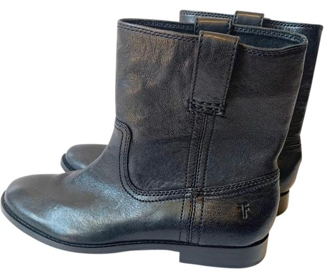 Frye Leather Pull Boots/Booties Size US 6.5 Regular (M, B) Frye Leather Pull Boots/Booties Size US 6.5 Regular (M, B) Image 1