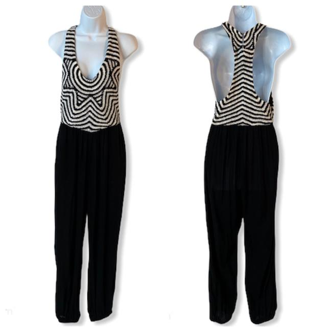 Item - Black Jumpsuit Cover-up/Sarong Size 6 (S)