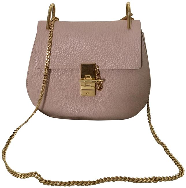 Item - Drew Small Cement Pink Lambskin Leather Shoulder Bag