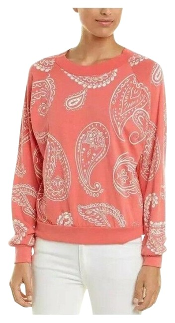 Item - Paisley Coral Peach Sweater