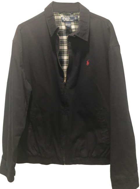 Item - Navy Polo Pre-owned Mens Jacket Size 12 (L)