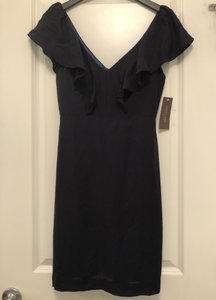 Jenny Yoo Navy Casual Bridesmaid/Mob Dress Size 2 (XS)