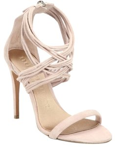 Burberry Women Heels Logo nude Sandals