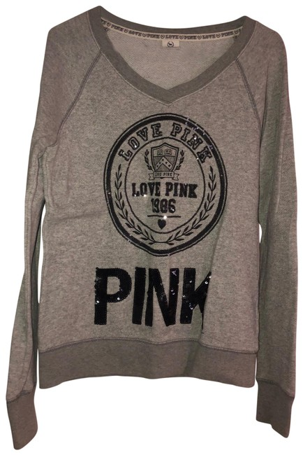 PINK Gray Sweater PINK Gray Sweater Image 1