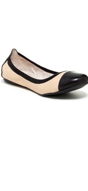Item - Black/Cream Elissee Ballet Slippers Flats Size US 7 Regular (M, B)