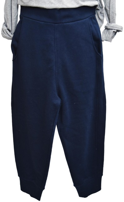 Item - Navy Cotton Joggers Small Activewear Bottoms Size 6 (S, 28)