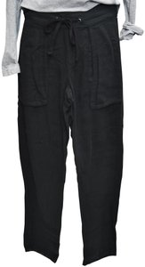 James Perse Joggers Relaxed Pants Black