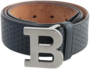 Bally Bally Perforated B-Buckle Belt Size 80/32