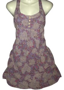 Purple Maxi Dress by Xhilaration Pullover Floral Sleeveless