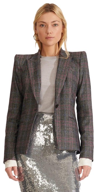 Item - Plaid Brock Dickey Jacket 0 Pant Suit Size 0 (XS)