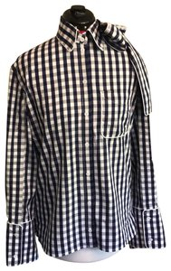 J.W.Anderson Button Down Shirt blue and white
