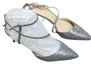 INC International Concepts Gray Silver Sandals