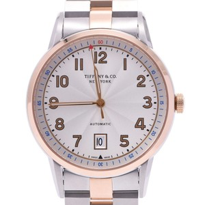 Tiffany TIFFANY & Co. Tiffany CT60 back scale 36813857 Men's SS PG watch automatic winding white dial