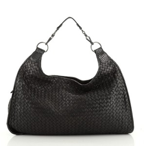 Bottega Veneta Crocodile Leather Hobo Bag