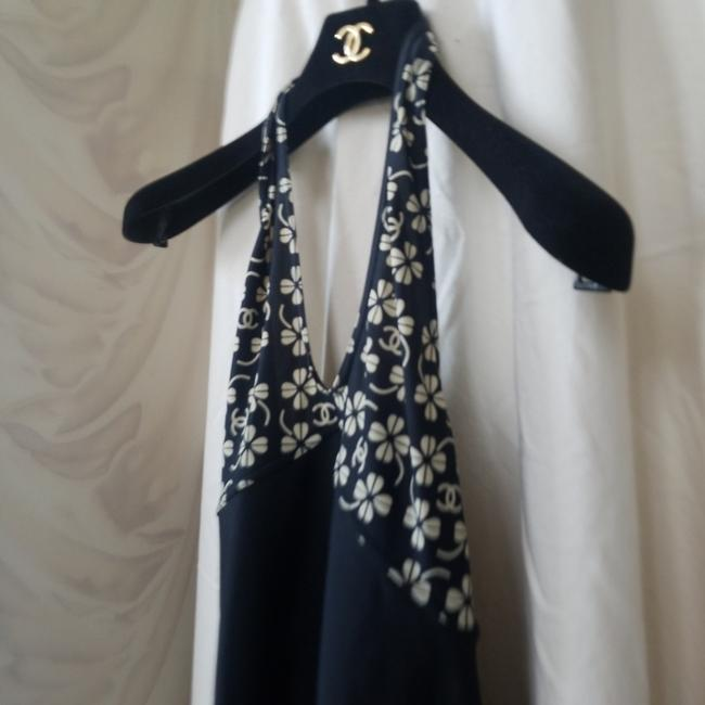 Item - Vintage Classic Monogrammed Cover Up Or Or Cocktails Short Casual Maxi Dress Size 6 (S)