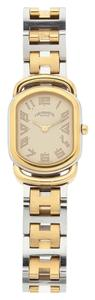 Hermès Hermes Gold Plated & Stainless Steel Rallye Watch