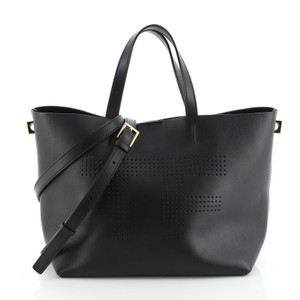 Tom Ford Leather Tote in Black