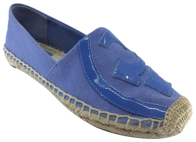 Item - Blue Chambray Canvas Lonnie Espadrilles Flats Size US 5.5 Regular (M, B)