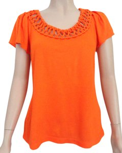 Banana Republic Top Orange
