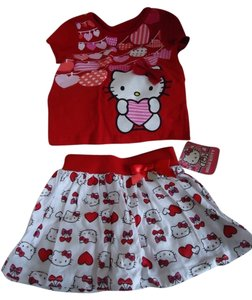 Hello Kitty 2T Infant 2 Pc Hello Kitty Outfit ~ Adorable!