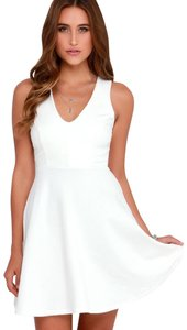 Lulu*s Sleeveless Fit And Flare Skater Dress
