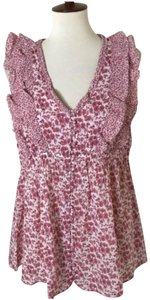 Hatch Collection Ruffle floral top
