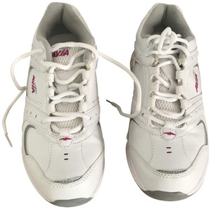 Avia Sneaker Tennis Walking Running Leather White Athletic